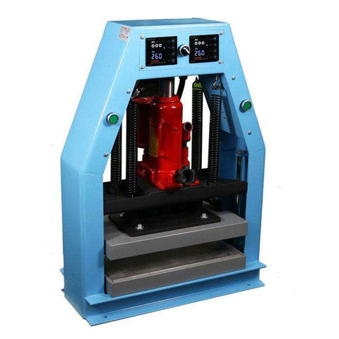 "Bubble Magic Hydraulic/Pneumatic Heat Press, 8""x16"" - 12 Ton - Right Bud"