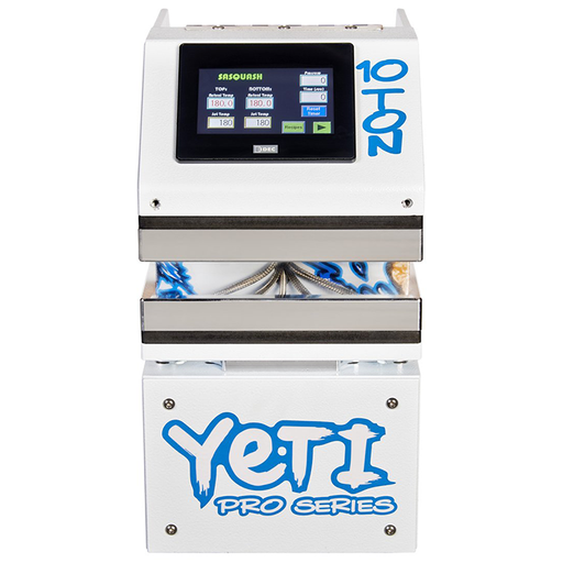 Sasquash 10 Ton YETI Pro Series Rosin Press
