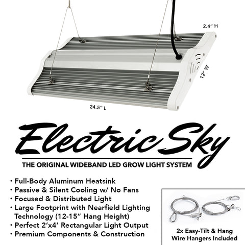 Green Sunshine Company Electric Sky ES180 Wideband LED Grow Light