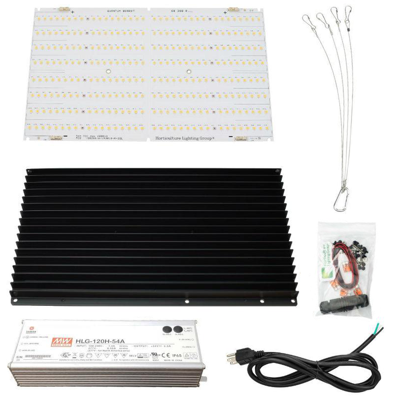 Horticulture Lighting Group 135 Watt V2 Quantum Board DIY Kit