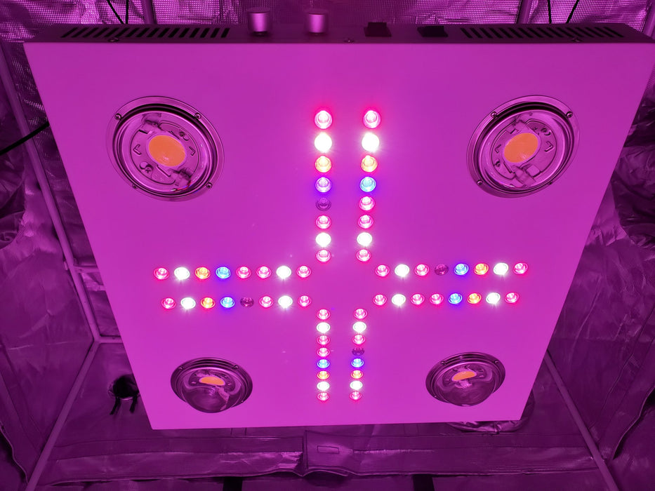 Optic LED Optic 4 XL Dimmable COB LED Grow Light 460w (UV/IR) 3500k COBs