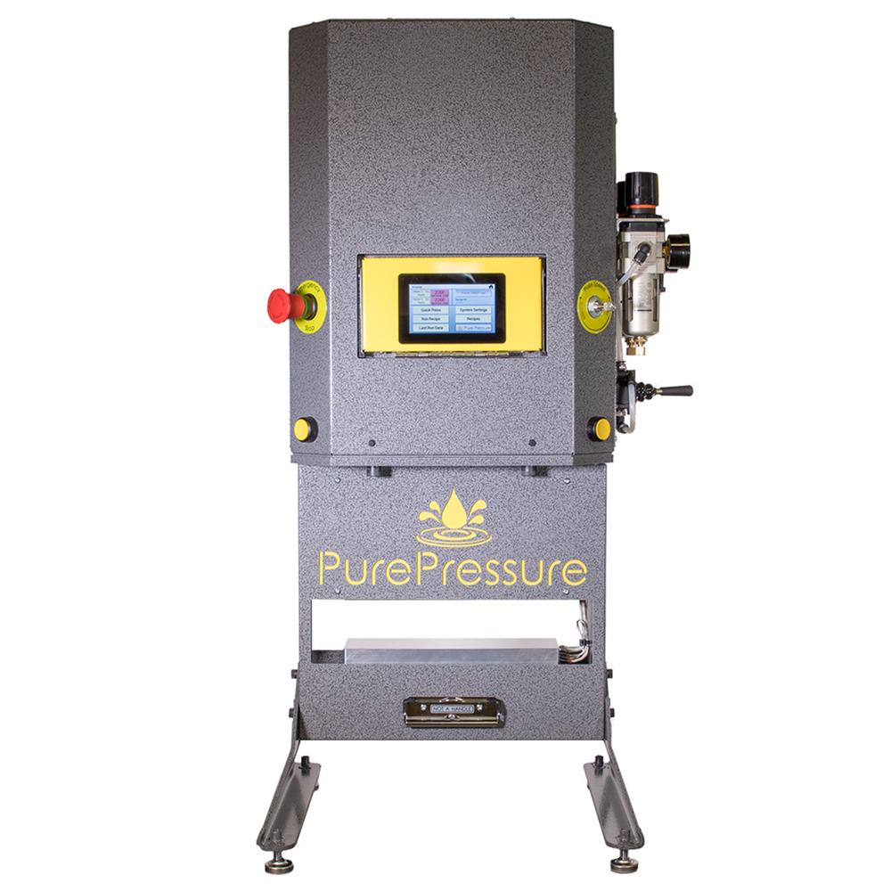 Pure Pressure Longs Peak 8-Ton Pneumatic Rosin Press