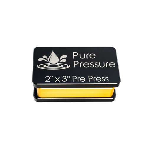"Pure Pressure 2"" x 3"" Rosin Press Aluminum Pre-Press Mold"