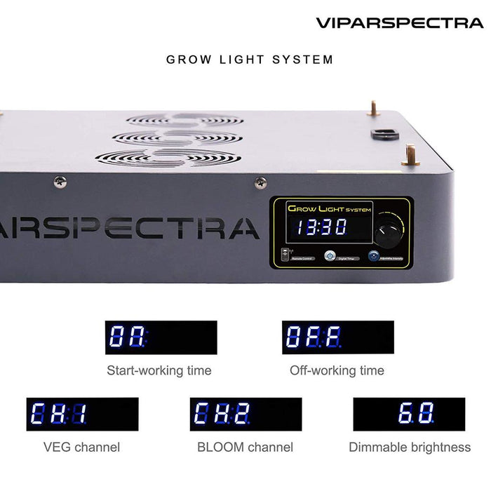 Viparspectra TC900S Timer Control 900W