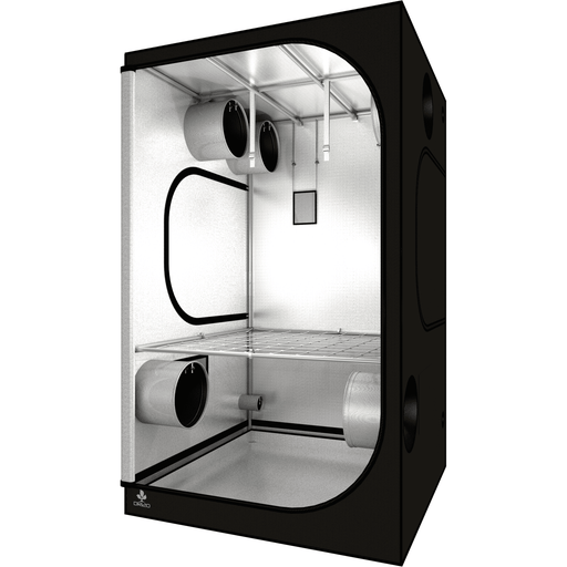 Secret Jardin Dark Room 150 v3.0 (5' x 5' x 7 2/3') Professional Hydroponics Grow Tent SJDR150 - Right Bud