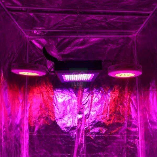 G8 LED 900 Watt Full Spectrum Veg/Flower Plant LED Grow Light - Right Bud