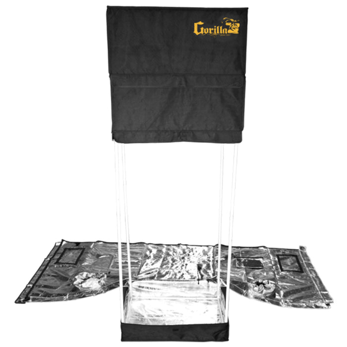 Gorilla Grow Tent Original 2' x 2.5' Heavy Duty Hydroponics Grow Tent