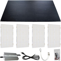 Horticulture Lighting Group HLG 600H Quantum Board V2 R-Spec DIY Kit w/ Bluetooth Controller & Scheduler - 620 Watt