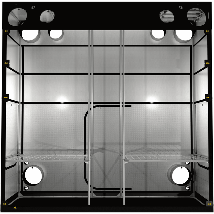 Secret Jardin Intense 120 (4' x 10' x 7') Professional Hydroponics Grow Tent INT120 - Right Bud