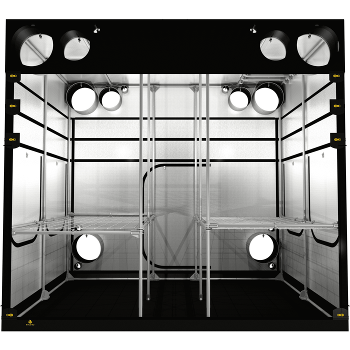 Secret Jardin Intense 240 (8' x 10' x 7') Professional Hydroponics Grow Tent SJINT240 - Right Bud