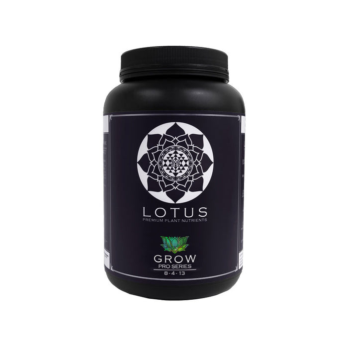 Lotus Nutrients Grow Pro Series (16oz, 32oz, 64oz, 128oz, 256 oz)