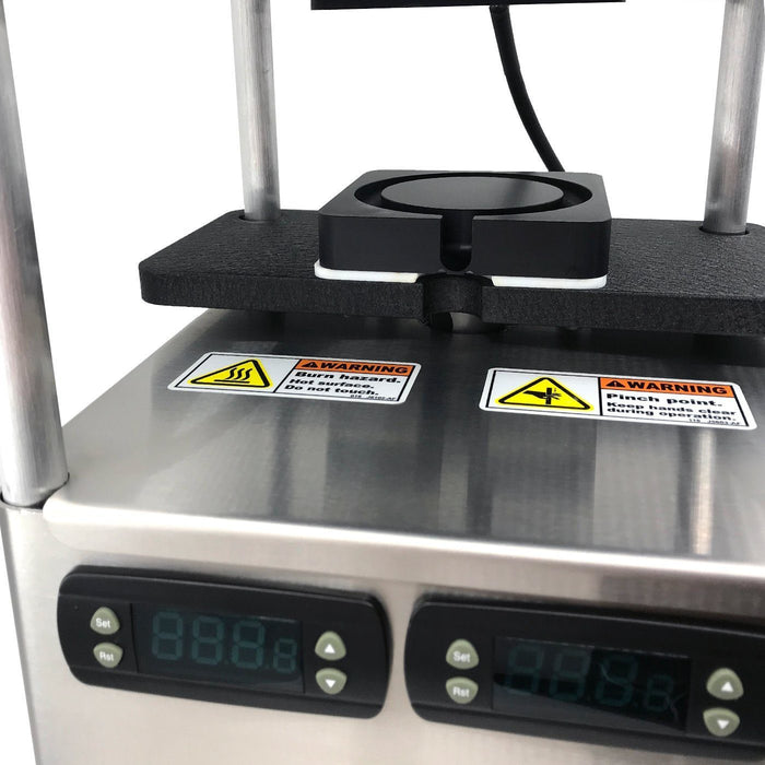 Rosinbomb M60 Commercial Electric Rosin Press with Flow Channel Technology