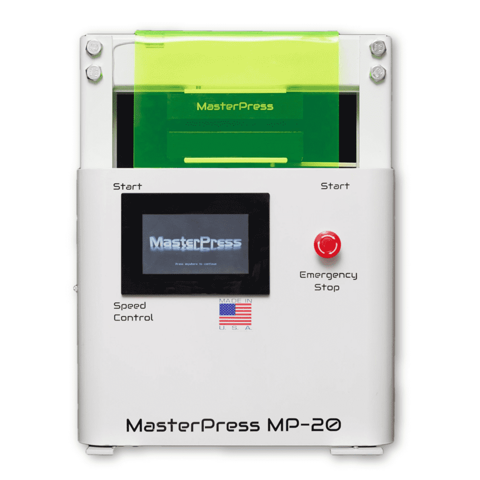 Master Press MP-20 Ton Automatic Rosin Press - Right Bud