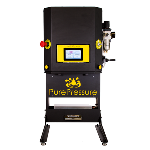 Pure Pressure Pikes Peak V2 5 ton Pneumatic Rosin Tech Press