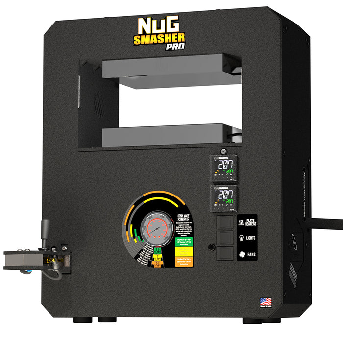 NugSmasher Pro 20 Ton Rosin Press All-in-One Starter Kit