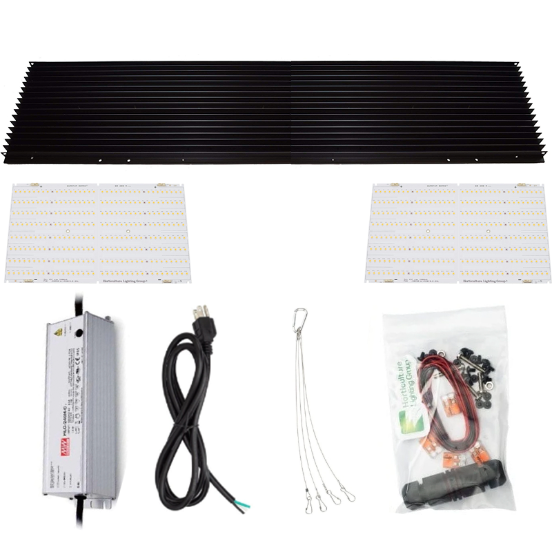 Horticulture Lighting Group 260 Watt XL V2 R-Spec Quantum Board DIY Kit