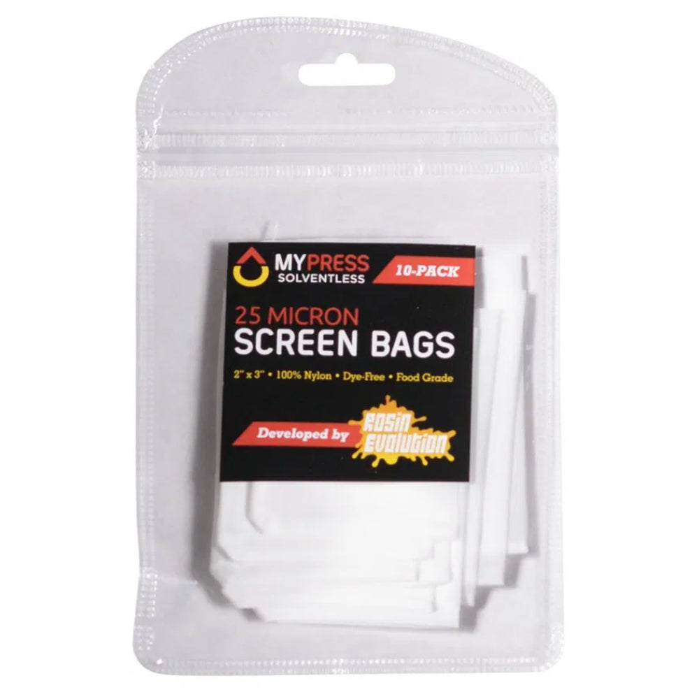 MyPress 4 Gram Premium Extraction Rosin Bags - Pack of 200 (25u)