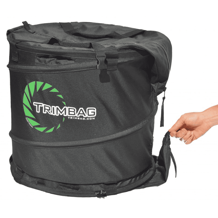 TrimBag Collapsible Bladeless Dry Bag Bud Trimmer - Right Bud