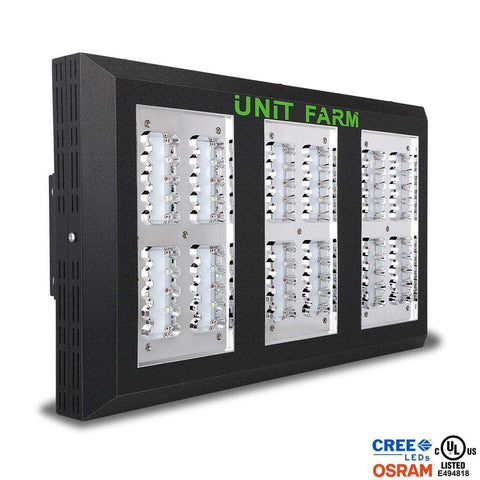 Unit Farm UFO-120 LED Grow Light - Right Bud