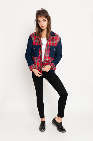 Squared Jeans Jacket