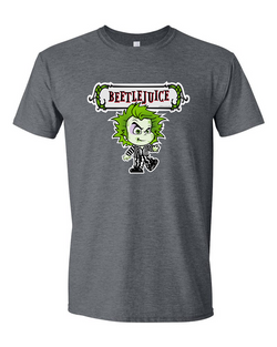 Beetlejuice Adult Graphic TShirt