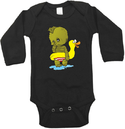 Baby Creature from the Black Lagoon Graphic Onesie or Tee-Spooky Baby