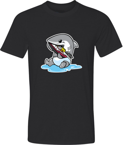 Baby Jaws Adult Graphic TShirt