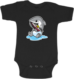 Baby Jaws Graphic Onesie or Tee