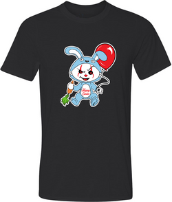 Bunny Pennywise Adult Graphic TShirt