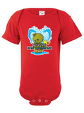 Valentine Creature from the Black Lagoon Graphic Onesie or Tee