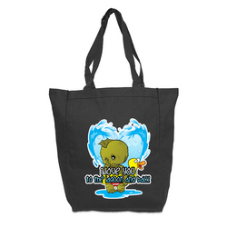 Valentine Creature of the Black Lagoon Tote Bag