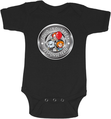 COVID19 Response Team #2 Graphic Onesie or Tee