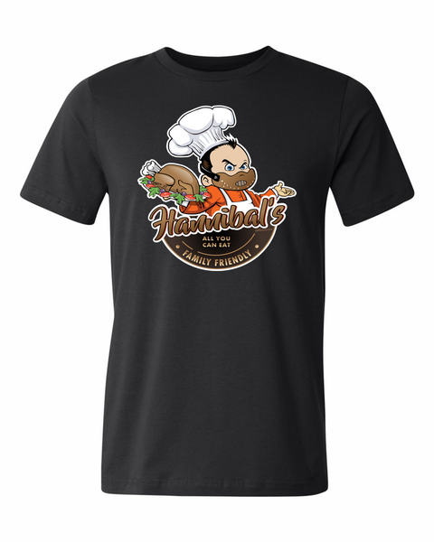 Dinner with Hannibal Adult Graphic Shirt