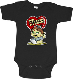 Exorcist Heart Graphic Onesie or Tee