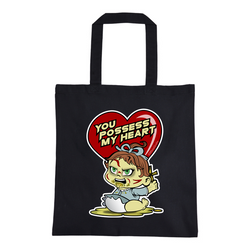 Exorcist Heart Tote Bag