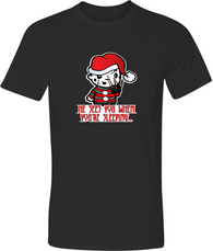 Freddy Claus Adult Graphic TShirt