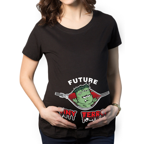 Future Tiny Terror Maternity T-Shirt
