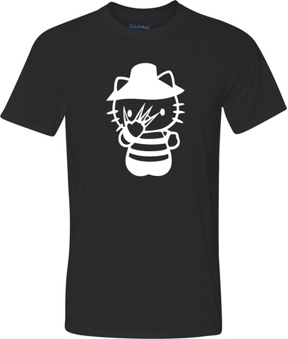 Freddy Kitty Glow in the Dark Adult Graphic T-Shirt