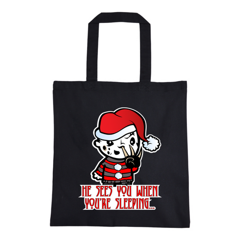 Freddy Clause Tote Bag