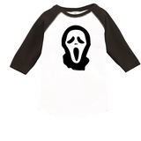 Ghost Face Raglan T-Shirt or Onesie