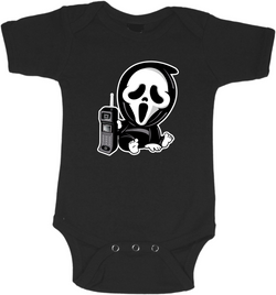 Ghostface Graphic Onesie or Tee
