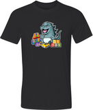 Baby Godzilla Adult Graphic TShirt