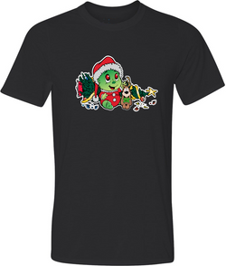 Baby Grinch Adult Graphic T-Shirt