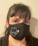 Scary Kitty Face Mask