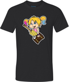 Harley Quinn Adult Graphic T-Shirt