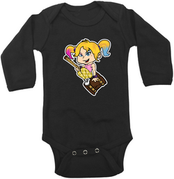Harley Quinn Graphic Onesie or Tee