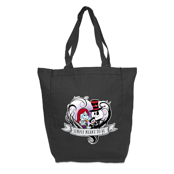 Jack and Sally Vine Heart Bag