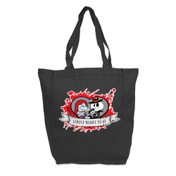 Jack & Sally Love Tote Bag