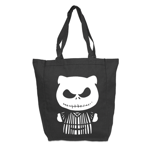 Jack Kitty Glow in the Dark Tote