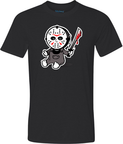Baby Jason Adult T-Shirt